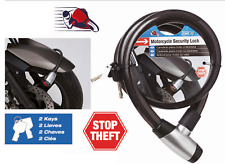 """Car+ MOTORCYCLE BICYCLE ATV CABLE SECURITY LOCK,44"""" INCH LENGTH HEAVY DUTY"""