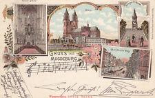Ansichtskarten aus Sachsen-Anhalt mit dem Thema Dom & Kirche