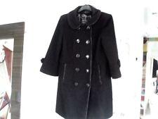 LADIES BLACK COAT SIZE 10