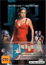 Jennifer Lopez - Let's Get Loud (DVD, 2003) R4