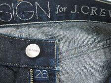 "GOLDSIGN for J.CREW  Slim Skinny JEANE Women's jeans size 26 inseam 28"""