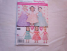 Simplicity Sewing Pattern #1135 - 18  inchDoll clothes