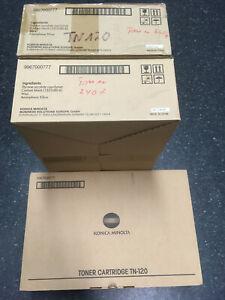 9967000777 TN-120 Konica Minolta 240f Toner Schwarz 3 Stk