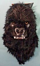 Gorilla Moving Mouth Mask Halloween Costume Adult One Size Fits Most