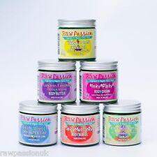 RAW PASSION 100% Organic Vegan Skin Food 4 x 15 ml Pixie Range Mixed TRAVEL SIZE