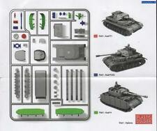 PLASTIC SOLDIER German Panzer IV (1 Tank/4 variantes) 1-Carotte
