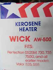 American Wick Kerosene Heater Wick  #AW-500 NEW  Fits many perfection models