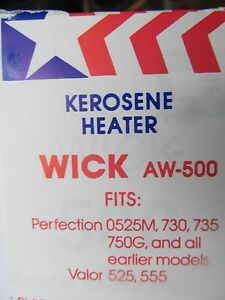 American Wick Kerosene Heater Wick  #AW-500 NEW  Fits many perfection models