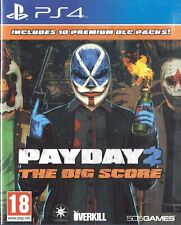 PayDay 2: The Big Score Sony Playstation 4 PS4 18+ FPS Shooter Game