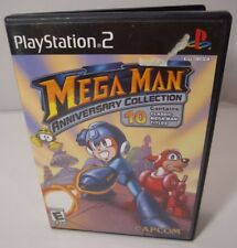 Mega Man Anniversary Collection -Sony Playstation 2 PS2 Complete In Box