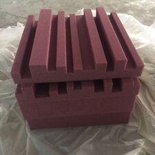 6 PCS Sound Proof Acoustic Metro Foam Burgundy Color For karaoke rooms