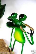 Originell großer Frosch Metall aufwendig gearbeitet Gartendeko Blickfang M4