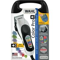 WAHL Color Code Pro Plus 79752 Hair Cutting Kit Clippers Coded NEW FREE SHIP