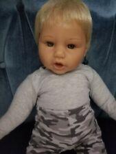 """Lee Middleton Doll """" Vintage """" Jointed boy doll"""