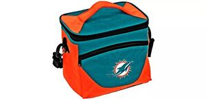 Miami Dolphins Halftime Cooler Zipper Insulated Lunch Bag Box Tote 9pk NFL