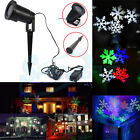 IP68 Moving Outdoor LED Snowflake Projector Light Garden Lawn Xmas Wedding Lamp