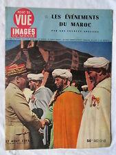 POINT DE VUE IMAGES DU MONDE 273 (1953) EVENEMENTS DU MAROC
