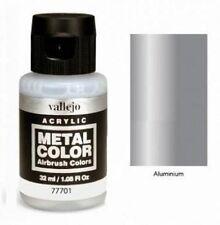 Val77701-De Metal Color-Aluminio 32ml Vallejo Aerógrafo Colores