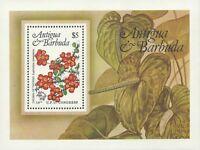Antigua 1984 - Local Flowers 19th UPU Congress Nature Flora - Sc 759 MNH