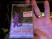 Chuck Strong- Why Do You Make Me Cheat On You- rare 2-track cassette- new!