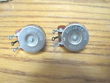 1969 Fender / CTS 250K Audio Potentiometers Telecaster / P Bass