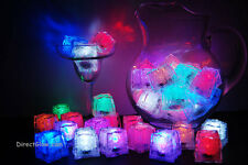 Set of 48 Litecubes Brand Assorted Light up LED Ice Cubes