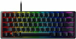 Razer Huntsman Mini Gaming Keyboard Clicky Optical Switches Chroma RGB Lighting