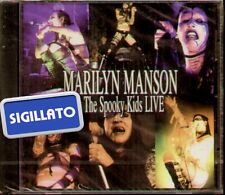 """MARILYN MANSON AND THE SPOOKY KIDS """" LIVE """" CD SIGILLATO"""