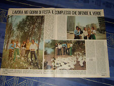 FLORA FAUNA CEMENTO gruppo musicale band clipping articolo foto photo 1972