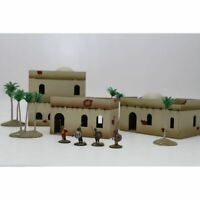 NORTH AFRICA BUILDING SET 3 Bandua Wargames UnPainted 28mm Brand New in Box