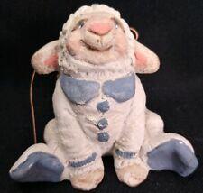 Dreamsicles Figurine smiling Sheep baby in pajamas
