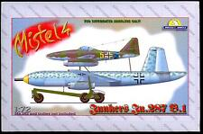 Unicraft Models 1/72 JUNKERS Ju-287 B.1 MISTEL 4 German Parasite Bomber