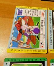 DRAGON BALL Z DBZ PP AMADA PART CARDDASS CARD CARTE 487 MADE IN JAPAN **