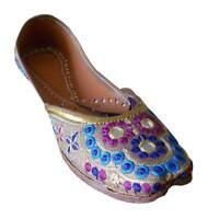Jutti Designer Leather Women Shoes Ethnic Ballerinas Handmade UK 3-6 EU 35.5-39