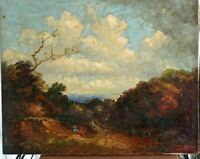 "Paul Wesley Arndt Landscape Oil/Canvas Painting 16"" x 20"", Unframed."