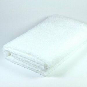 Handtuch/Haartuch 4 Stk. Vorteilspack 50 x 90 cm Microfaser, [Weiß] weich