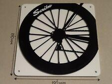 Scribe Cycling Wheel, Scribe rear wheel design - Acrylic Sign: 190x190mm