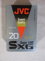JVC ST-C20 CG Super VHS S-XG Compact Video Cassette NIP