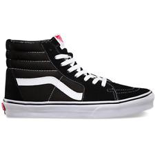 Vans - Unisex Sk8 Hi Sneakers, Black/ White
