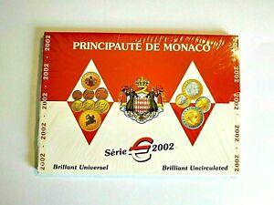X MAGNIFIQUE COFFRET MONACO BU   2002   SCELLE / NEUF