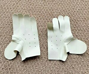 Nash Clarino Pro Lacrosse Glove Replacement Palms! Lax Gloves Palm Ivory