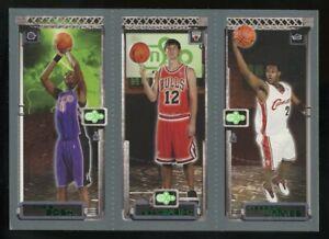 2003-04 Topps Rookie Matrix LeBron James Chris Bosh Kirk Hinrich RC