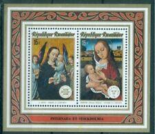 Rwanda 1974 MNH MS No Gum, Religious Painting, Art