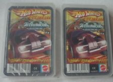 Hot wheels Playing Cards - 2 x Hot Wheels Quarlett AcceleRacers - From Germany