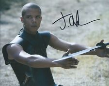 Jacob Anderson Game of Thrones autograph 8x10 photo with COA by CHA