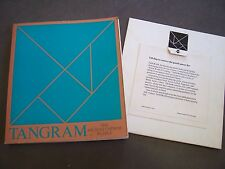 Tangram - The Ancient Chinese Puzzle Joost Elffers & Michael Schuyt 1976
