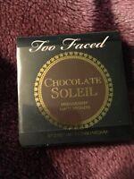 Too Faced Chocolate Soleil Medium / Deep Matte Bronzer Sample 0.08oz 2.5g