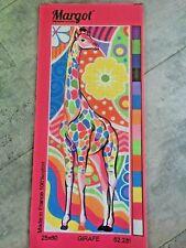 soleil sur la savane soleil sur la savane needlepoint canvas Margot tapisserie