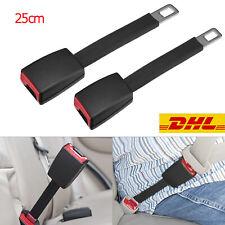 2*Auto Sicherheit Sitzgurt Safety Belt Extender Verlängerung Schnalle Lock/Clip