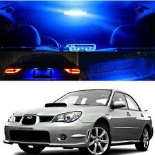 For 06-07 Subaru Impreza AWD STI WRX LED Xenon Blue Light Bulb Interior Kit